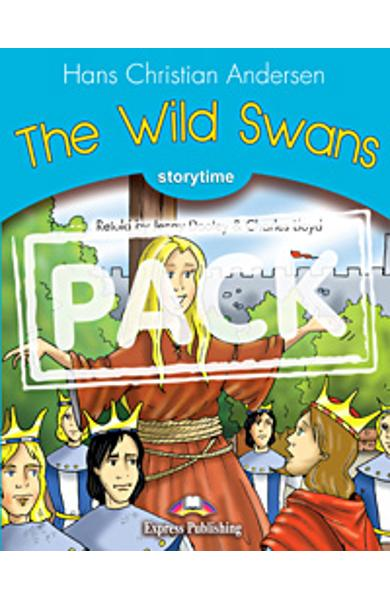 Literatura adaptata pt. copii The Wild Swans - set cu multi-rom (carte + multi-rom) 978-1-84974-272-6