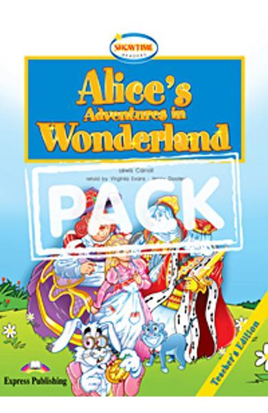 Literatura Adaptata pentru Copii Alice's Adventures in Wonderland Pachetul Profesorului (cartea + multi-ROM ) 978-1-84974-119-4