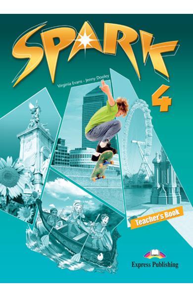 Curs limba engleza Spark 4 Monstertrackers Manualul profesorului 978-0-85777-405-7