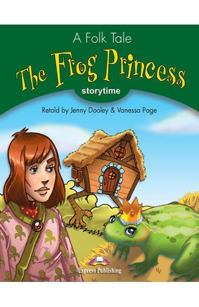 Literatură adaptată The Frog Princess cu Audio CD