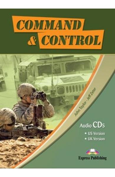 Curs limba engleză Career Paths Command & Control - Audio-CD (set de 4 CD-uri)