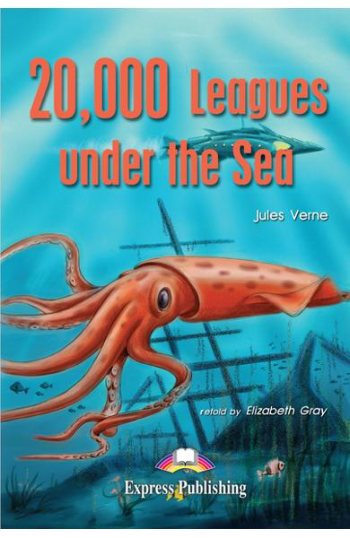 Literatură adaptată 20.000 Leagues under the Sea 978-1-84325-756-1