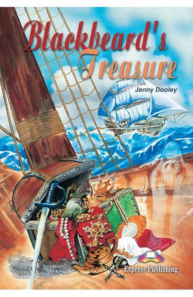 Literatură adaptată pt. copii Blackbeard`s Treasure 978-1-84216-900-1
