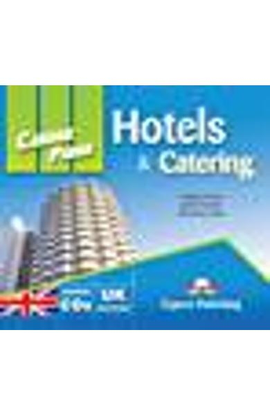 Curs limba engleză Career Paths Hotels & Catering - Audio-CD (set de 2 CD-uri)