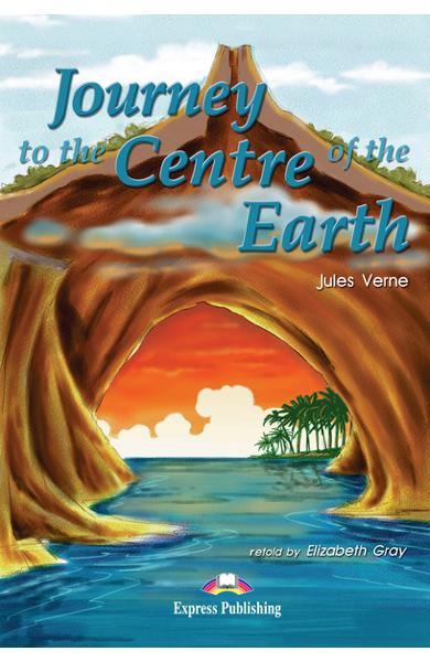 Literatură adaptată Journey to the Centre of the Earth - Set: carte + audio CD + caiet de activități 978-1-84216-178-4