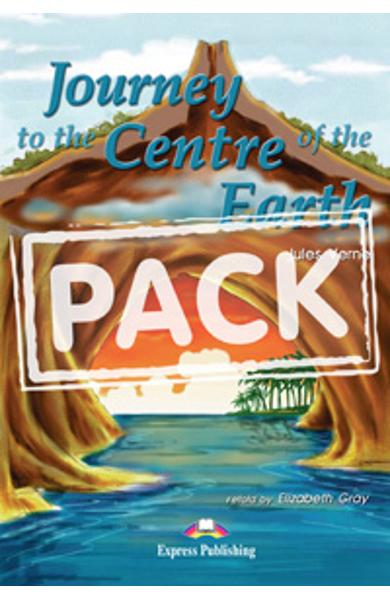 Literatura Adaptata pentru Copii Journey to the Centre of the Earth Pachet Elev (carte + caseta audio + caiet de activitati) 978-1-84216-179-1