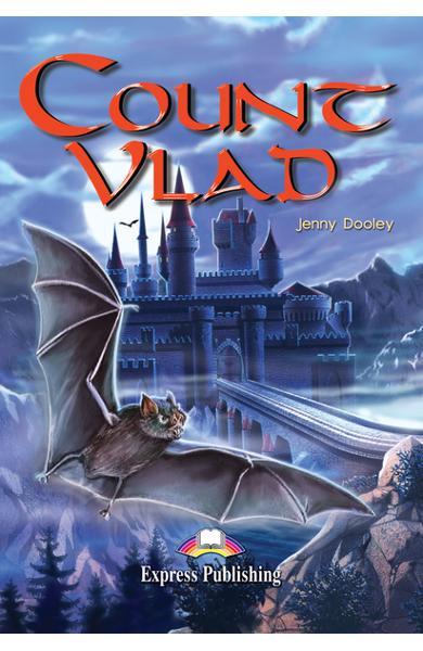 Literatură adaptată pentru copii Count Vlad Pachetul elevului (carte + audio CD + caiet de activitati) 978-1-84216-172-2