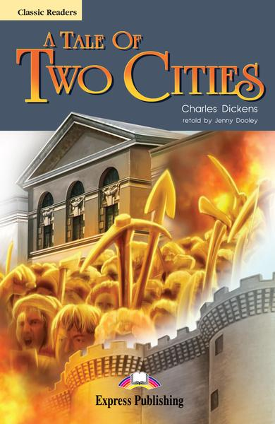 Literatură adaptată A Tale of Two Cities cu CD