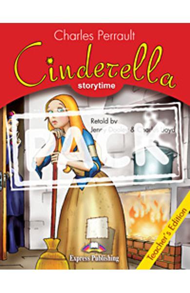 Literatura adaptata Cinderella pachetul profesorului cu multi-rom (carte + multi-rom)