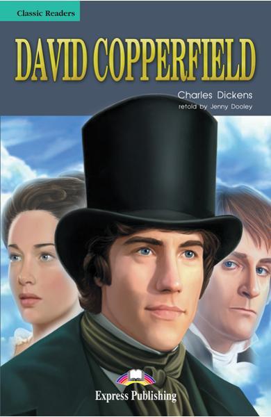 Literatură adaptată pt. copii David Copperfield (set cu cd)