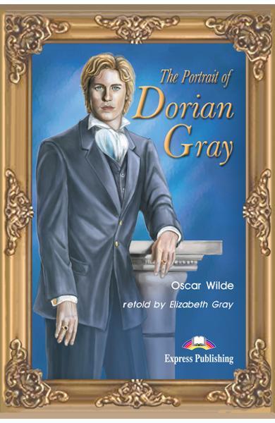 Literatură adaptată pentru copii The Portrait of Dorian Gray Pachetul elevului (carte + audio CD si caiet de activități) 978-1-84216-190-6