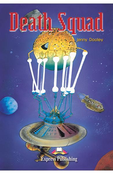 Literatură adaptată pentru copii Death Squad Pachetul elevului (carte + audio CD + caiet de activitati) 978-1-84216-170-8