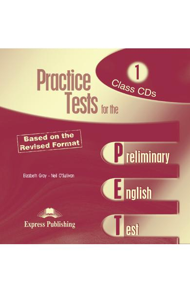 Teste limba engleză Practice tests for the PET 1 CD (set 2 CD)