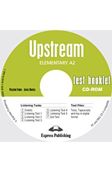 Curs Lb. Engleza Upstream Elementary CD-Rom Teste 978-1-84679-992-1