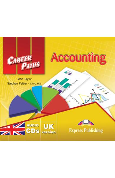 Curs limba engleză Career Paths Accounting - Audio CD