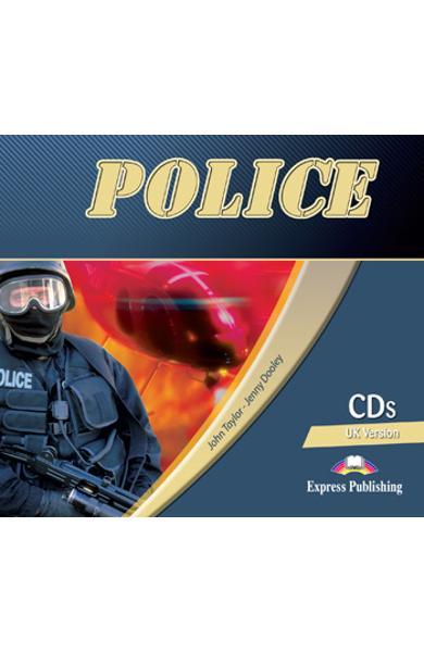 Curs limba engleză Career Paths Police - Audio CD