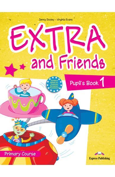Curs limba engleza Extra and Friends 1 Manualul elevului 978-1-4715-0565-2