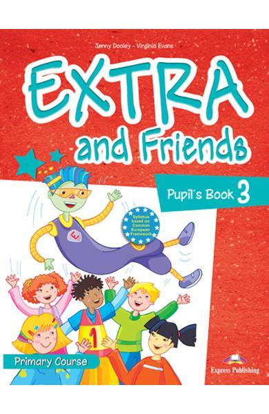 Curs lb. Engleza Extra and Friends 3 Manualul elevului 978-1-4715-0877-6