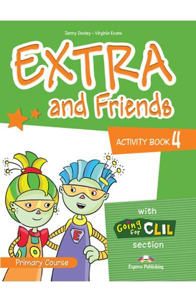 Curs lb. engleza Extra and Friends 4 Caietul elevului 978-1-4715-0880-6