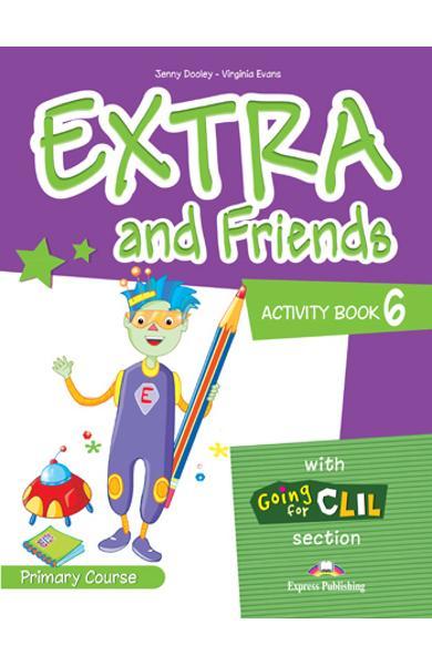 Curs lb. Engleza - Extra and Friends 6 - Caietul elevului 978-1-4715-0884-4