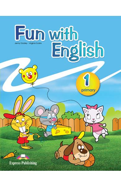 Curs lb. Engleza - Fun with English 1 - Manualul elevului 978-0-85777-665-5