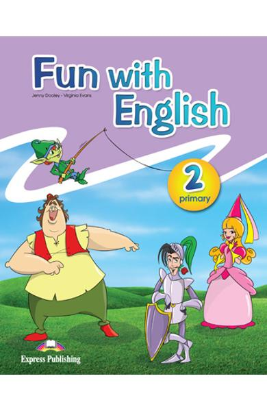 Curs lb. Engleza - Fun with English 2 - Manualul elevului 978-0-85777-666-2