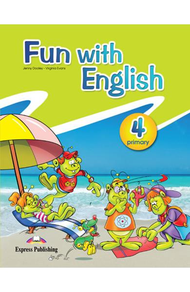 Curs lb. Engleza - Fun with English 4 - Manualul elevului 978-0-85777-673-0