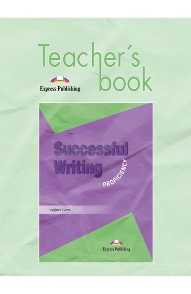 Curs limba engleză Successful Writing Proficiency Manualul profesorului