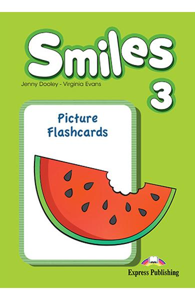 Curs Lb. Engleza Smiles 3 Picture Flashcards 978-1-78098-749-1