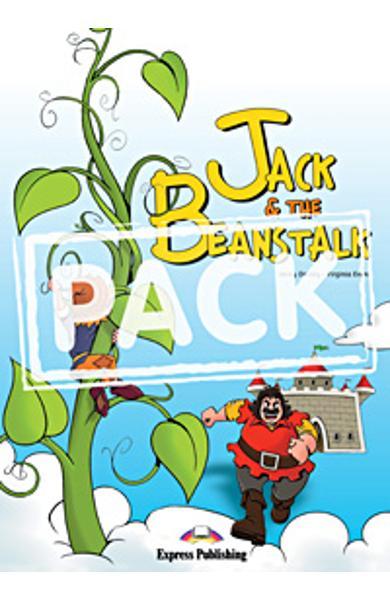Literatura adaptata Jack and The Beanstalk reader cu MULTI-ROM 978-1-84974-212-2