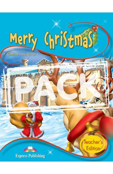 Literatura adaptata pt.copii - Merry Christmas - Set: Carte + MULTI-ROM 978-1-84974-252-8