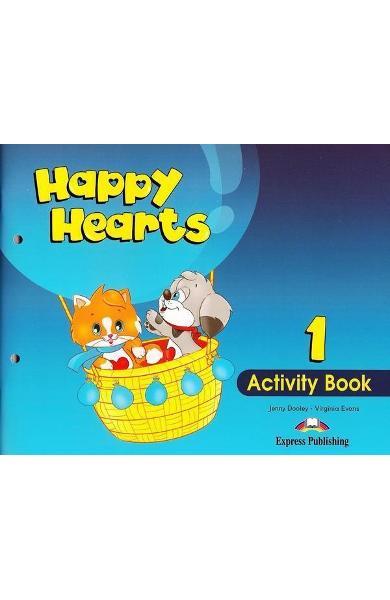 Curs limba engleză Happy Hearts 1 Caietul elevului