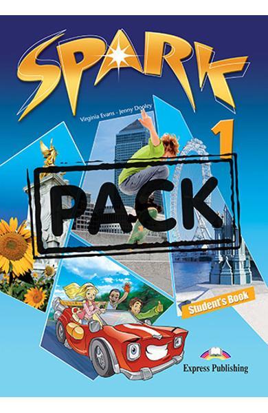 Curs limba engleza Spark 1 Monstertrackers Pachetul elevului cu iebook 978-1-78098-063-8