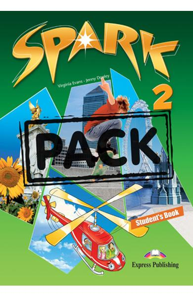 Curs limba engleza Spark 2 Monstertrackers Pachetul elevului ( Manual + ieBook ) 978-1-78098-064-5