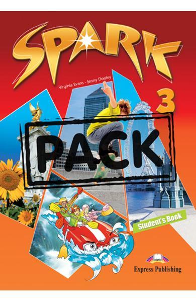 Curs limba engleza Spark 3 Monstertrackers Pachetul elevului ( Manual + ieBook ) 978-1-78098-065-2