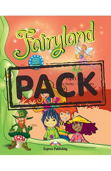Curs limba engleză Fairyland 4 Pachetul elevului (manual+multi-ROM)
