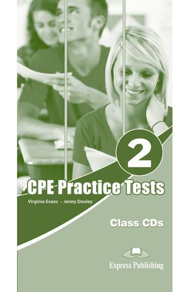 Teste limba engleză CPE Practice Tests 2 Audio CD (set 6 CD)