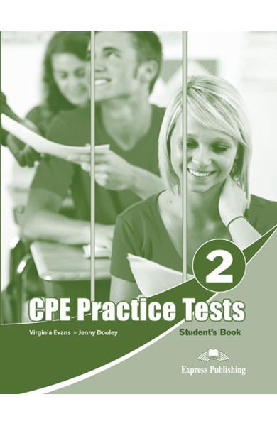 Teste limba engleză CPE Practice Tests 2 Manualul elevului