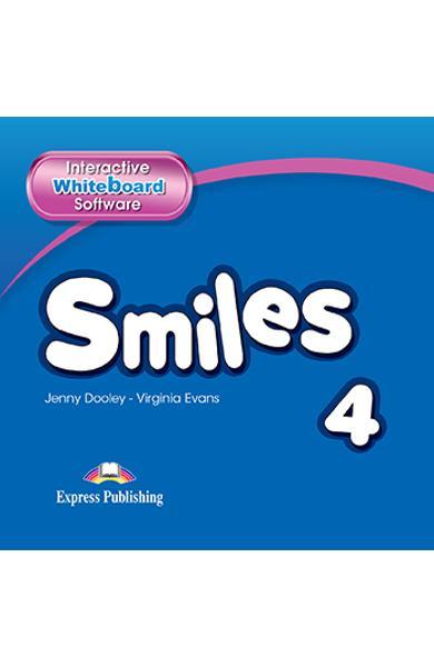 Curs Lb. Engleza Smiles 4 Software pentru Tabla Interactiva 978-1-78098-763-7