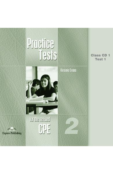 Teste lb. engleză - CPE Practice Tests 2 Audio CD (set 6 cd)