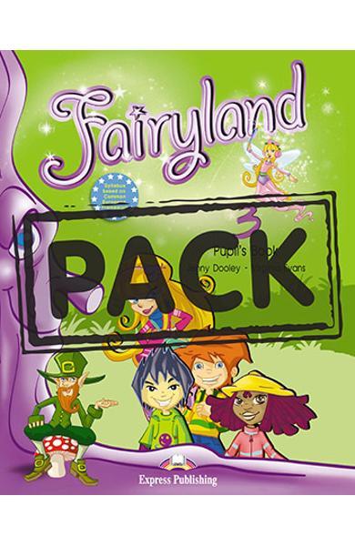 Curs limba engleză Fairyland 3 Pachetul elevului (manual+Multi-ROM)