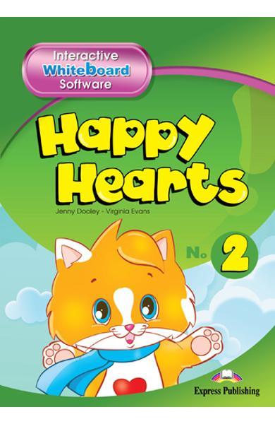 Curs limba engleză Happy Hearts 2 Software pentru tabla interactivă