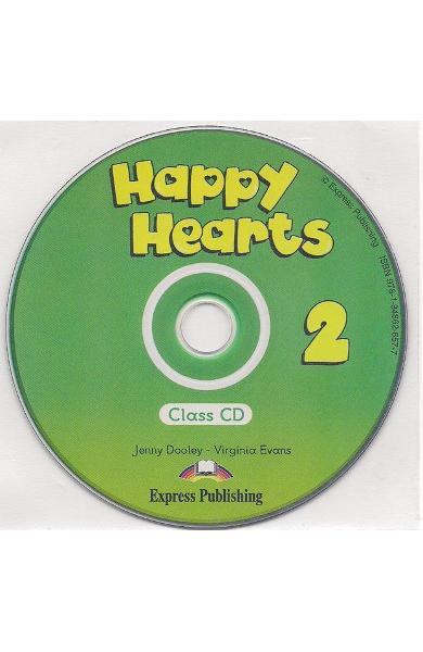 Curs limba engleză Happy Hearts 2 Audio CD