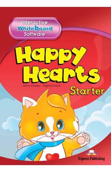 Curs limba engleză Happy Hearts Starter Soft pentru tabla interactivă