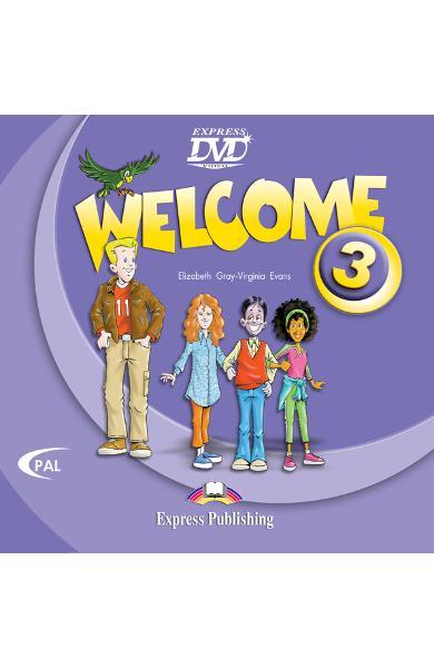 Curs limba engleză Welcome 3 DVD 978-1-84558-226-5