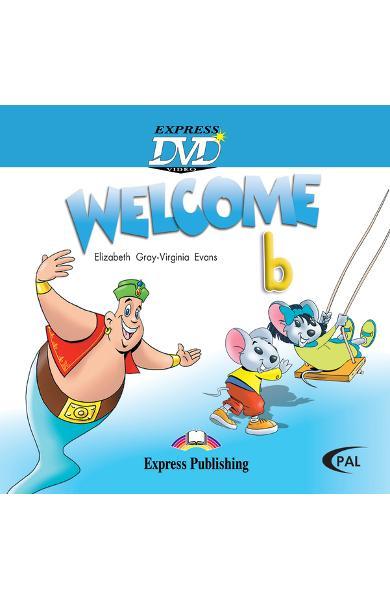 Curs limba engleză Welcome Starter B DVD 978-1-84558-152-7