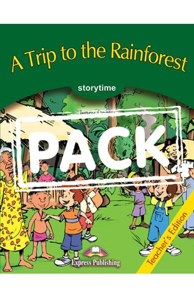 Literatura adaptata pt.copii - A Trip to the Rainforest - Pachetul profesorului 978-1-84325-719-6