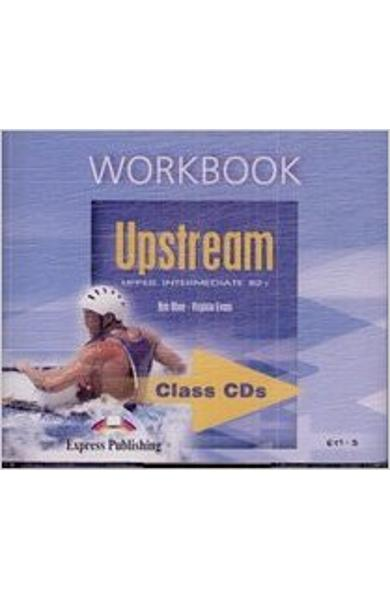 Curs limba engleza Upstream Upper Intermediate Audio CD la caietul elevului editie veche 978-1-84466-351-4