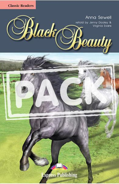 Literatura adaptata pt.copii Black Beauty - Set (carte + audio CD) 978-1-84974-132-3