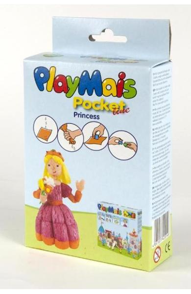 Material de construit şi modelat playmais pochet line princess